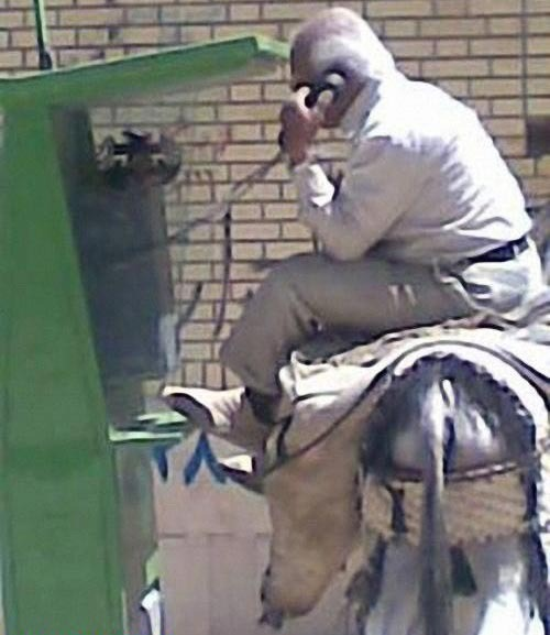 Donkey-Driver-Making-Call-hossein