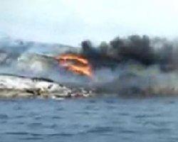 کشته های سقوط هلیکوپتر در خزر سپاهی بودند
