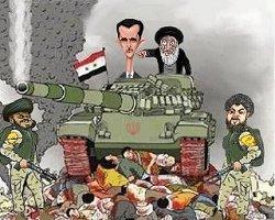 مراسم تملق گویی با بشار اسد در وصف رهبر