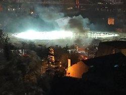 استانبول؛ انفجار در نزدیکی استادیوم فوتبال+فیلم