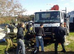 فیلم لحظه حمله مرگبار با کامیون در اسرائیل