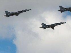 بمب افکن راهبردی روسیه در آسمان ایران