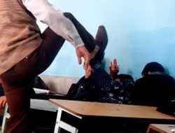 تنبیه بی رحمانه دانش آموزان در قاین+عکس