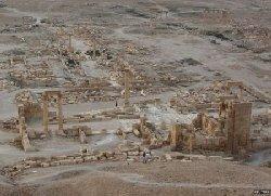 فیلم؛ تصاوير ماهوارهاي جديد از تخریب پالمیرا