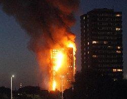 آتش سوزی مهیب لندن: فاجعه بزرگ + فیلم