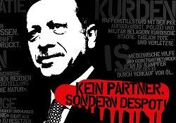 آلمان؛ هواداران اردوغان همسرم را تهدید کردند