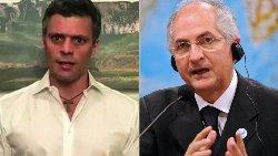 فیلم بازداشت رهبران اپوزیسیون در ونزوئلا