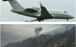 جزييات سقوط جت شخصی ترکیه ای در ایران