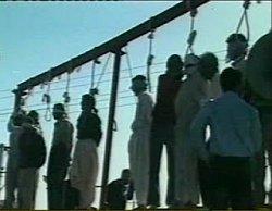 ادامه اعدامهای دسته جمعی در شهر علم الهدی