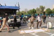 تیراندازی در رژه نیروهای مسلح اهواز+فیلم