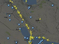 حریم هوایی ایران؛ هشدار آمریکا به ایرلاینها