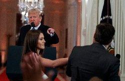 مجادله ترامپ با خبرنگار شبکه سی ان ان+فیلم