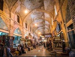فاجعه در شیراز؛ بازار وکیل در حال فروریختن