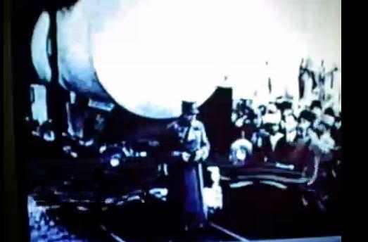 Shah of Iran visits NASA speaks to Congress
