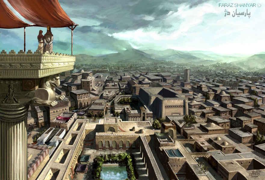 سواد ایرانیان باستان-حتی بیشتر از یونانیان