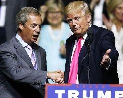 دخالت جنجال برانگیز ترامپ در امور انگلیس