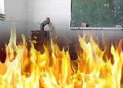 معلم فداكار: بچهها ترسيده بودند و فرياد می زدند