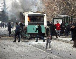 فیلمی دلخراش لحظاتی پس از انفجار امروز ترکیه