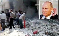 بازهم وتوی روسیه با طرح اعزام صلح بان به حلب