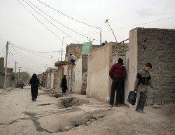 اعتراضات به حلبی نشین ها کشیده شد + عکس
