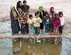 فقر در شهری که اولین چاه نفت در آن کشف شد