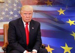 کار ترامپ و اتحادیه اروپا به تهدید کشید
