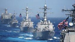 تهدید کره شمالی به هدف قرار دادن ناو آمریکا