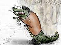 اشک تمساح رهبر برای معدنچیان گرسنه+عکس