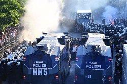 گروه 20؛ درگیری شدید در هامبورگ + فیلم