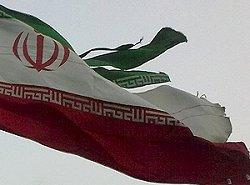 فیلم؛ پایین کشین پرچم رژیم تهران در اربیل