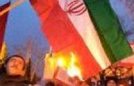 فیلم؛ کرمانشاه: آتش زدن پرچم ضد ایرانی