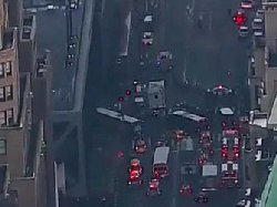 فیلم لحظه انفجار امروز در منهتن نیویورک