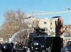 بازتاب بینالمللی تظاهرات امروز مشهد + فیلم