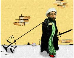 لاریجانی و رئیس زندان مخوف در لیست سیاه