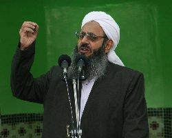حمایت رهبر اهل سنت ایران از اعتراضات