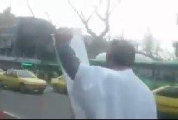 تیراندازی به یک معترض کفن پوش در تهران