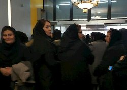 تجمع اعتراضی مدیران مهد کودک در تهران