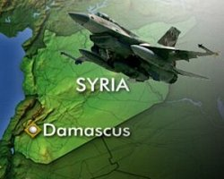 فیلم؛ سوریه: حمله هوايی به پایگاه سپاه/کشته