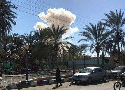 حمله با خودروی انتحاری به نیروی انتظامی+فیلم