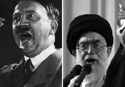 فعال داخل کشور: خامنه ای راه هیتلر را می رود