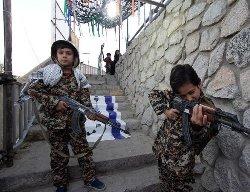 آماده سازی کودکان در ایران برای جنگ طلبی