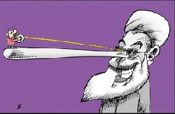 روحانی شیاد در پیام نوروزی هم دروغ گفت