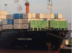 توقیف یک کشتی تحریم شده رژیم ایران در لیبی