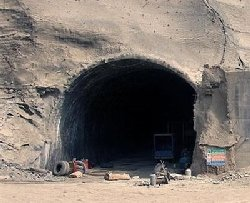 فیلم؛ انفجار مرگبار در تونل در حال ساخت