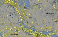 توقف عبور پروازهای خارجی از آسمان ایران