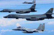 پرواز بمب افکن های بی-52 در نزدیکی ایران