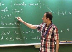 ریاضیدان پناهنده ایرانی، متفکر برتر جهان شد
