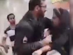 فیلم؛ ایران/حجاب: حمله وحشیانه به دختر جوان
