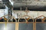 مردم بجان آمده یک امامزاده را به آتش کشیدند