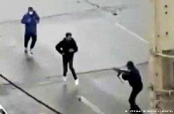 فیلم؛ شلیک مزدوران به مردم معترض در شیراز